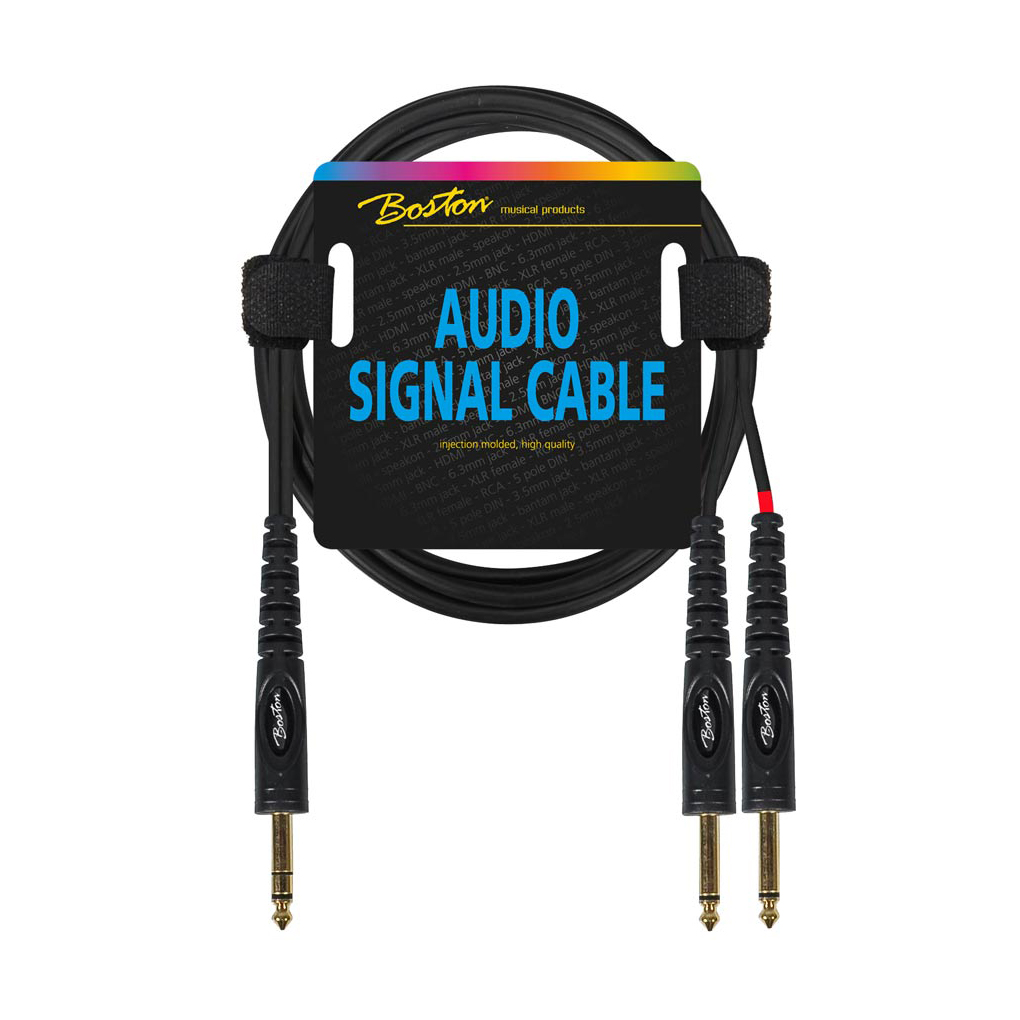 2x 63mm Jack Mono To Stereo The Music Outlet Rca Home